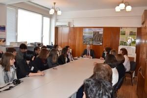 Министър Нено Димов посети РИОСВ - Монтана