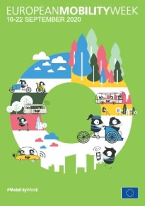 """Начало на кампанията """"Европейска седмица на мобилността"""" през 2020 г."""
